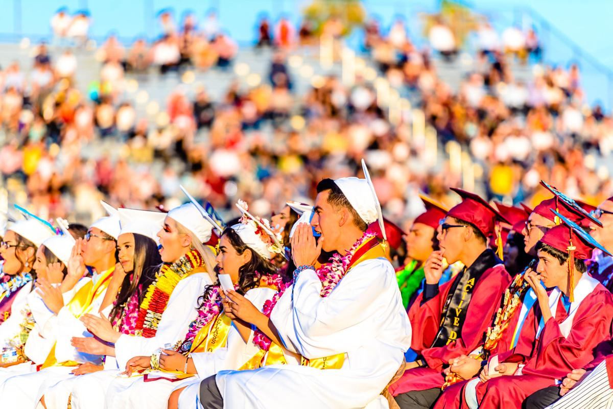 Calexico High graduates its largest class ever