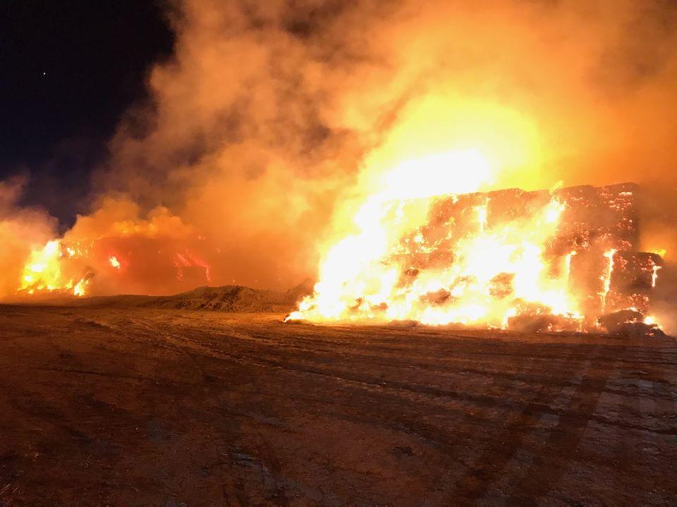 Valley Briefs: No injuries in haystack fires