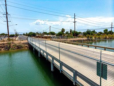 Kloke bridge reopens with security fencing