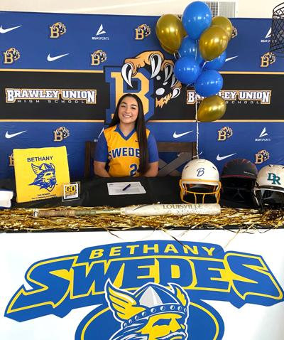 Wildcats' Martinez signs to play softball at Bethany College