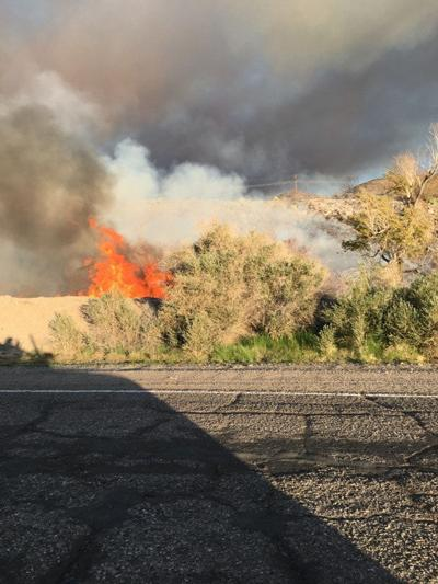 Valley Briefs: WINTERHAVEN: County firefighters help battle third alarm brush fire