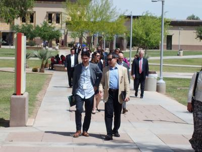 International leaders learn about opportunities in the Valley
