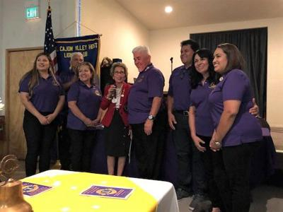 Newly charted Calipatria Lions Club comes to life