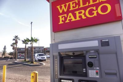 The Wells Fargo ATM robbed