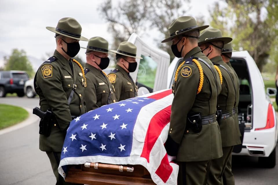 BP agent laid to rest