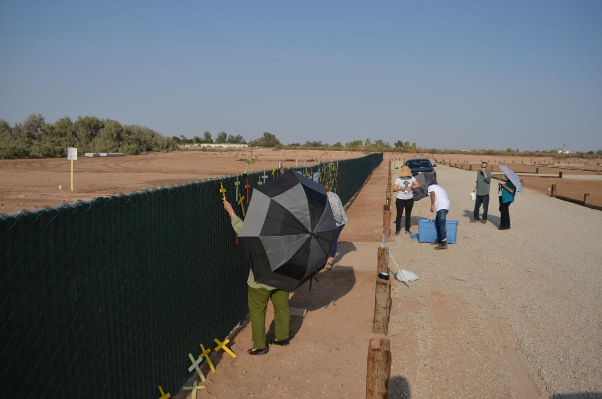 Memorial held for unidentified migrants