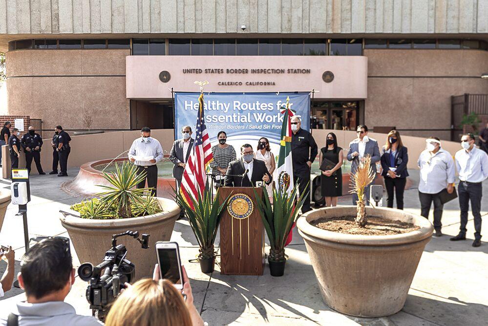 Mask initiative focused on border crossing