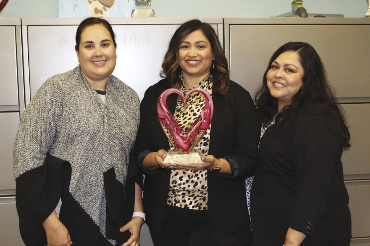 Three PMHD departments recognized