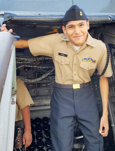 Calexico High School Navy JROTC Cadet of the Week:   Joshua Rivera