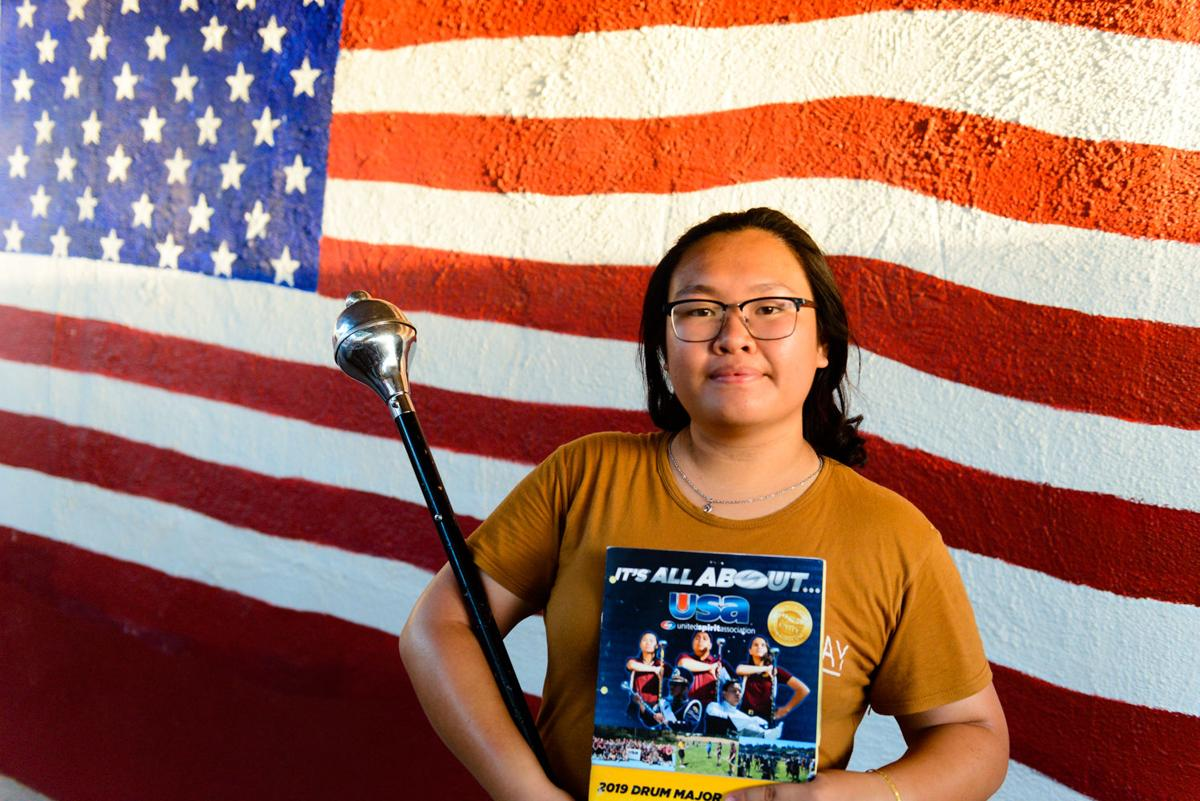 Calexico drum major earns All-American honors