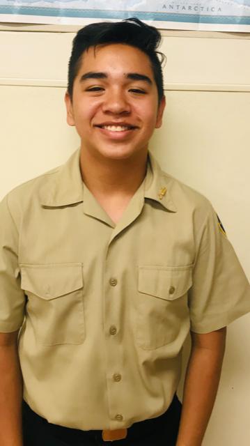 Calexico High School Navy JROTC Cadet of the Week: Edwin Felix-Chong