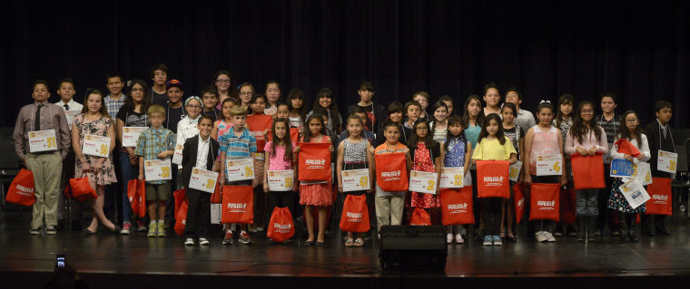 Imperial Valley Press Scripps Regional Spelling Bee participants