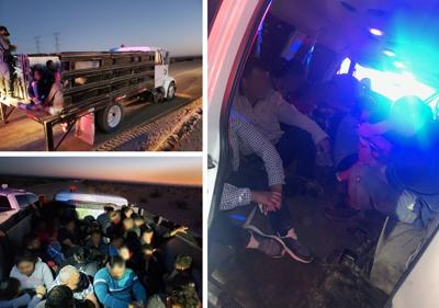 52 undocumented migrants found during smuggling attempt