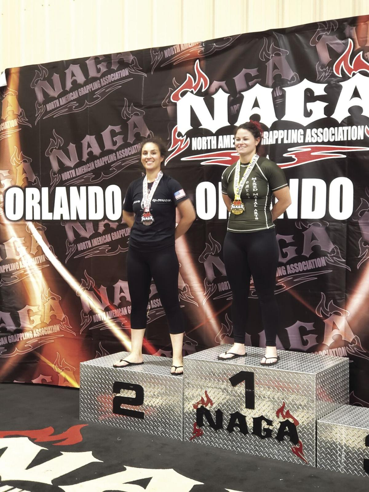 Calexico grappler Fanny Mae Gutierrez takes second in Orlando