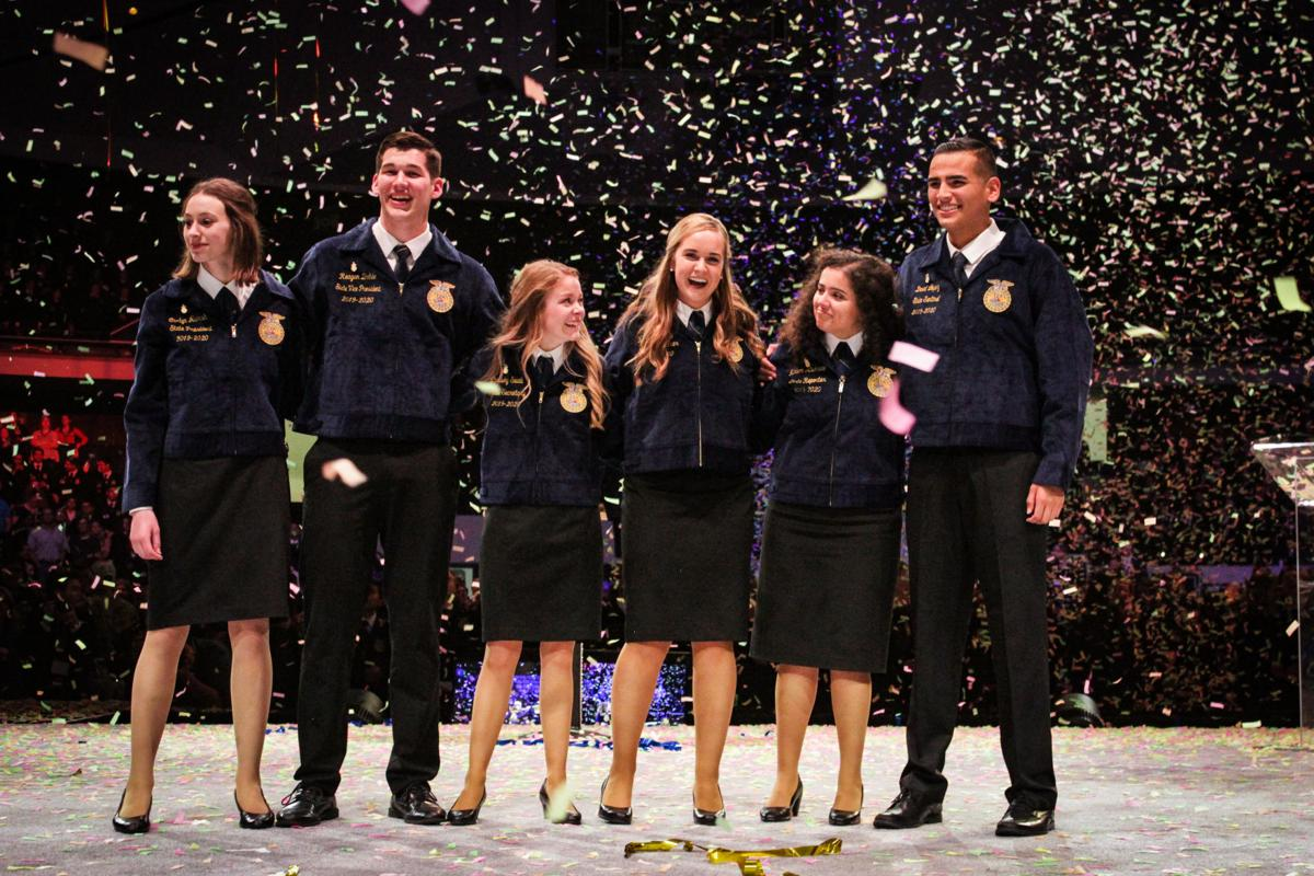 Holtville FFA making a mark in state leadership
