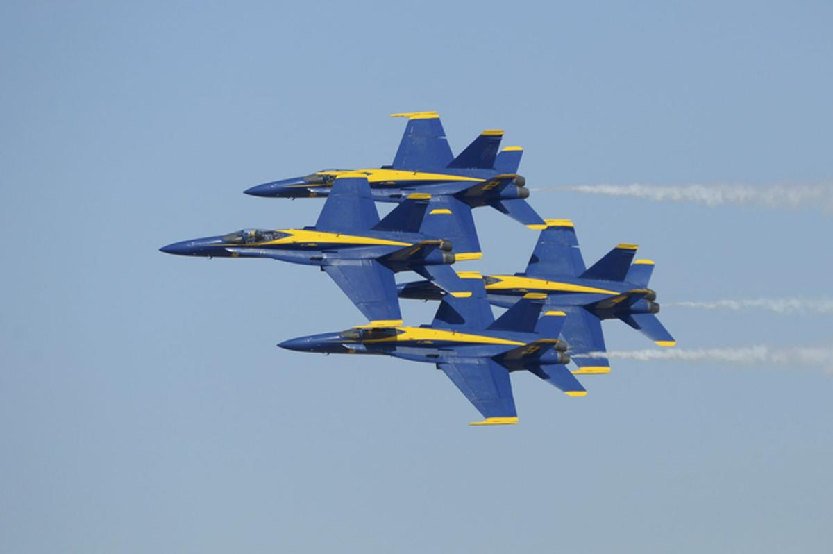 Blue Angels continue to be big draw