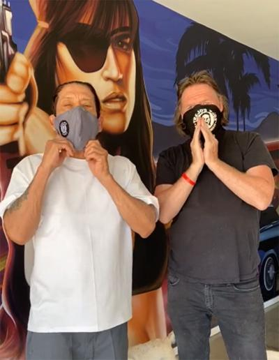 Actors implore Valley residents to 'wear a mask'