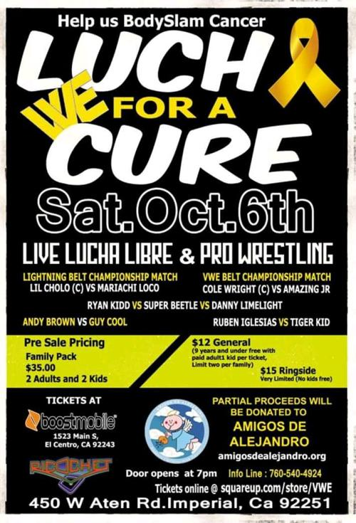 Invitan a evento de lucha libre   Adelante Valle   ivpressonline com