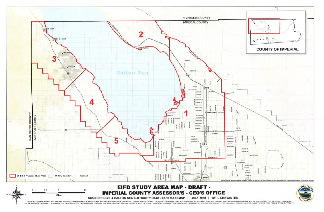 USA, California: Draft Planning Map for Salton Sea Sets Asides Land on united states california map, colorado river california map, lakeview terrace california map, trinity county ca map, sequoia national park california map, sea ranch california map, thousand palms california map, wister refuge map, niland ca map, salt sea map, fort irwin california map, pine mountain club california map, lake berryessa california map, whitewater river california map, american river california map, silverwood lake california map, dust bowl california map, yosemite national park california map, kings canyon california map, san jose ca on ca map,