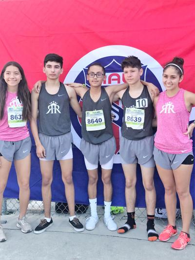 Five local athletes run in AAU Jr. Olympics