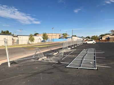 Valley Briefs: EL CENTRO: DUI driver hits CUHS parking lot fence