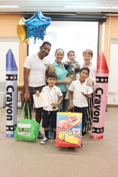 Library honors Calexico parents, early readers