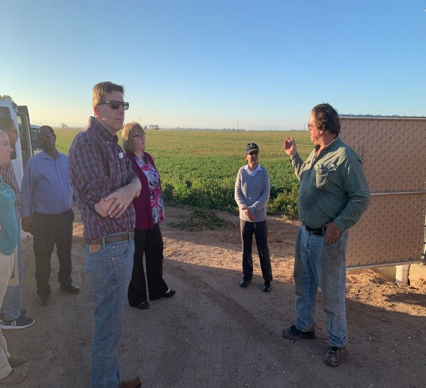Top administrators from UC ANR visit Imperial Valley