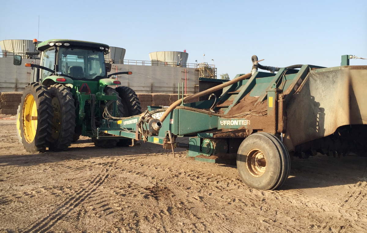 Manure management in Imperial County