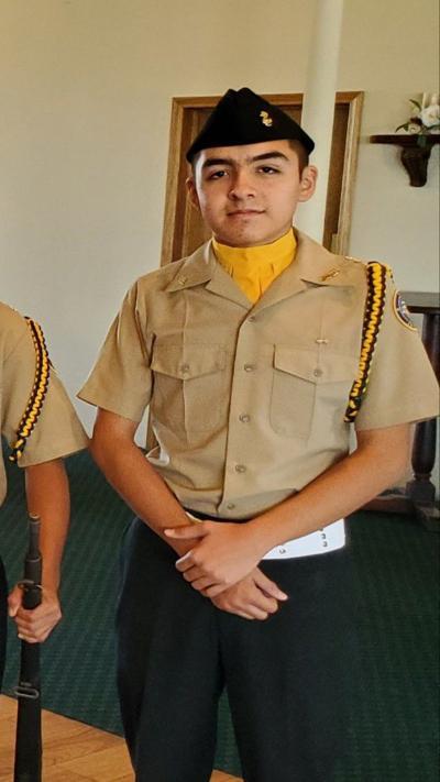 Calexico High School Navy JROTC Cadet of the Week: Christopher Sosa