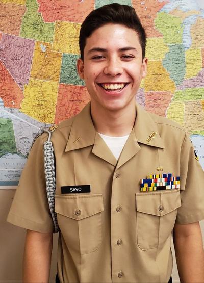 Calexico High School Navy JROTC Cadet of the Week: Jose Savo