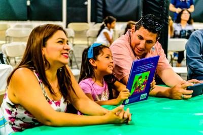 Literacy event promotes summer reading