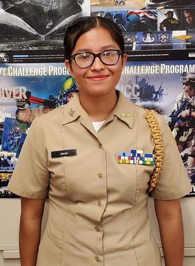 Calexico High School Navy JROTC Cadet of the Week: Alizeth Jaura