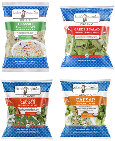 Braga Fresh releases four salads under organic label