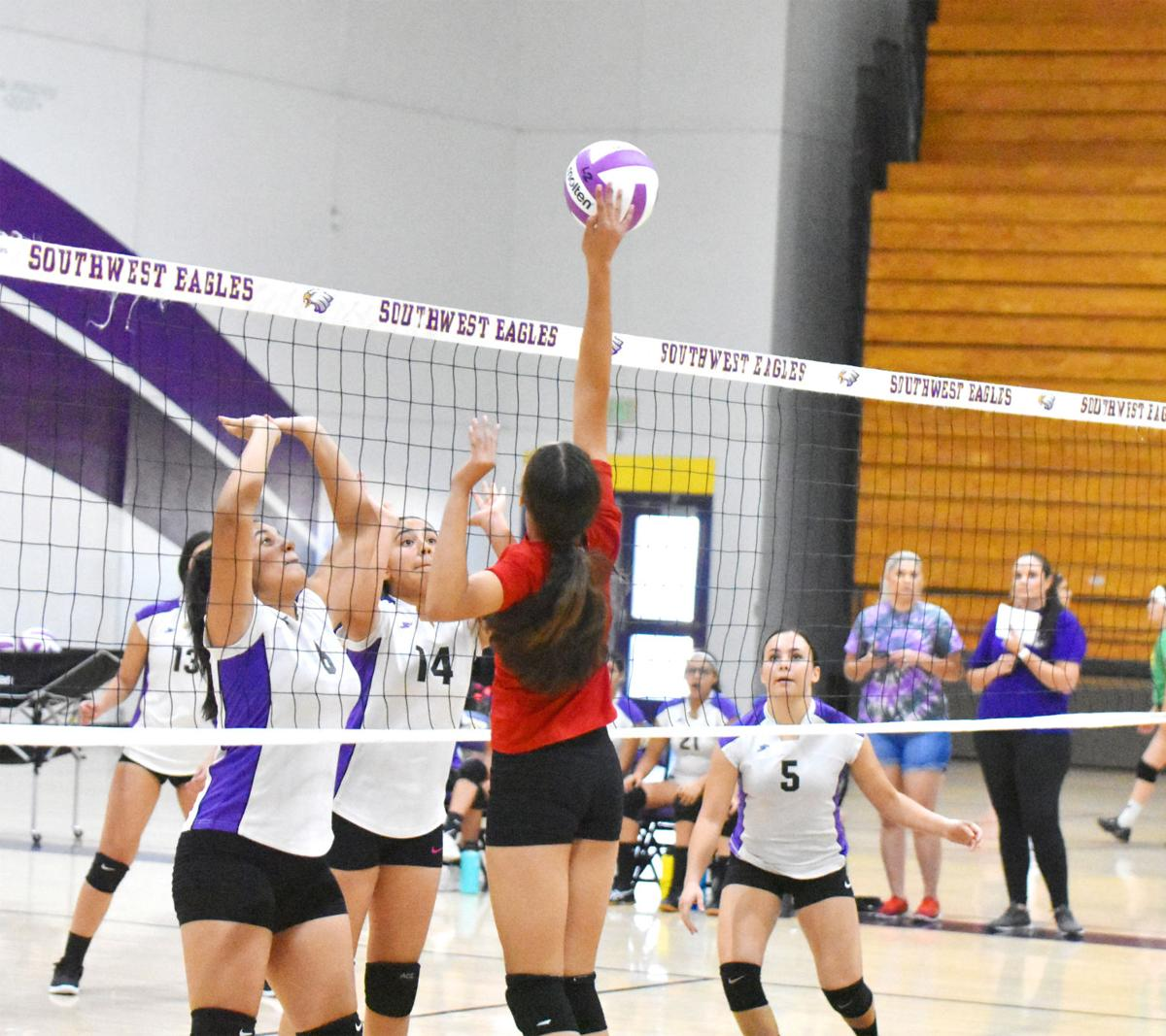 Pass, set, spike!: Day 1 of Southwest Volleyball Carnival kicks off with freshmen and JV