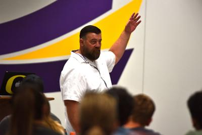 Southwest's Haines lays out program vision at meet and greet