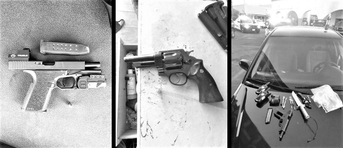 Valley Briefs: Three guns seized during weekend