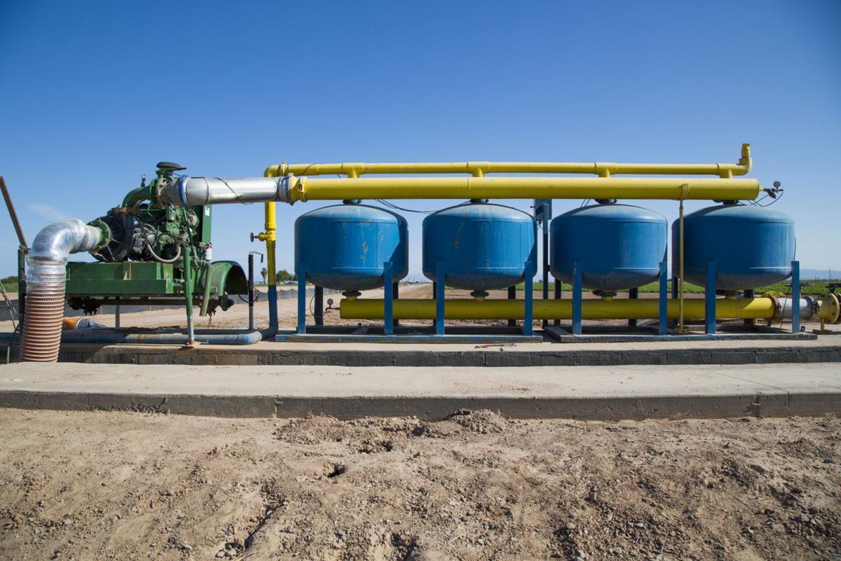 Farming through historic water scarcity in California