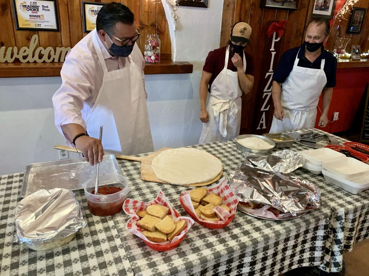 Local pizzeria honored as a top small business