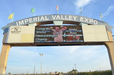 Imperial council, chamber set to honor boxing champ Andy Ruiz Jr.