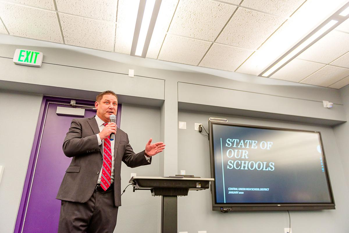 District's progress highlighted in State of Our Schools address