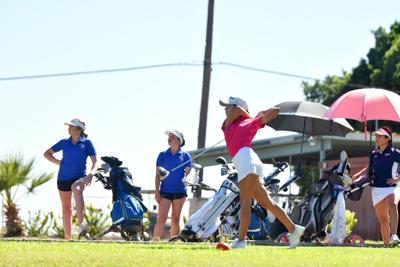 Eagles out in front with girls' golf season at its midpoint
