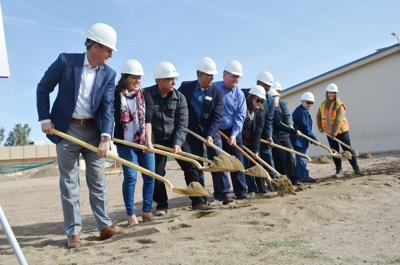 De Anza Magnet breaks ground on multipurpose room