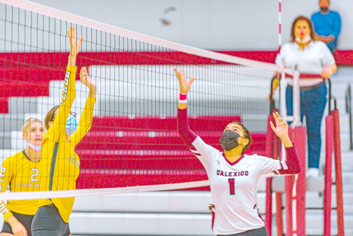 Lady Bulldogs rip Palo Verde in 3-game sweep