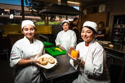 Trio hope to serve a winning dish at national competition