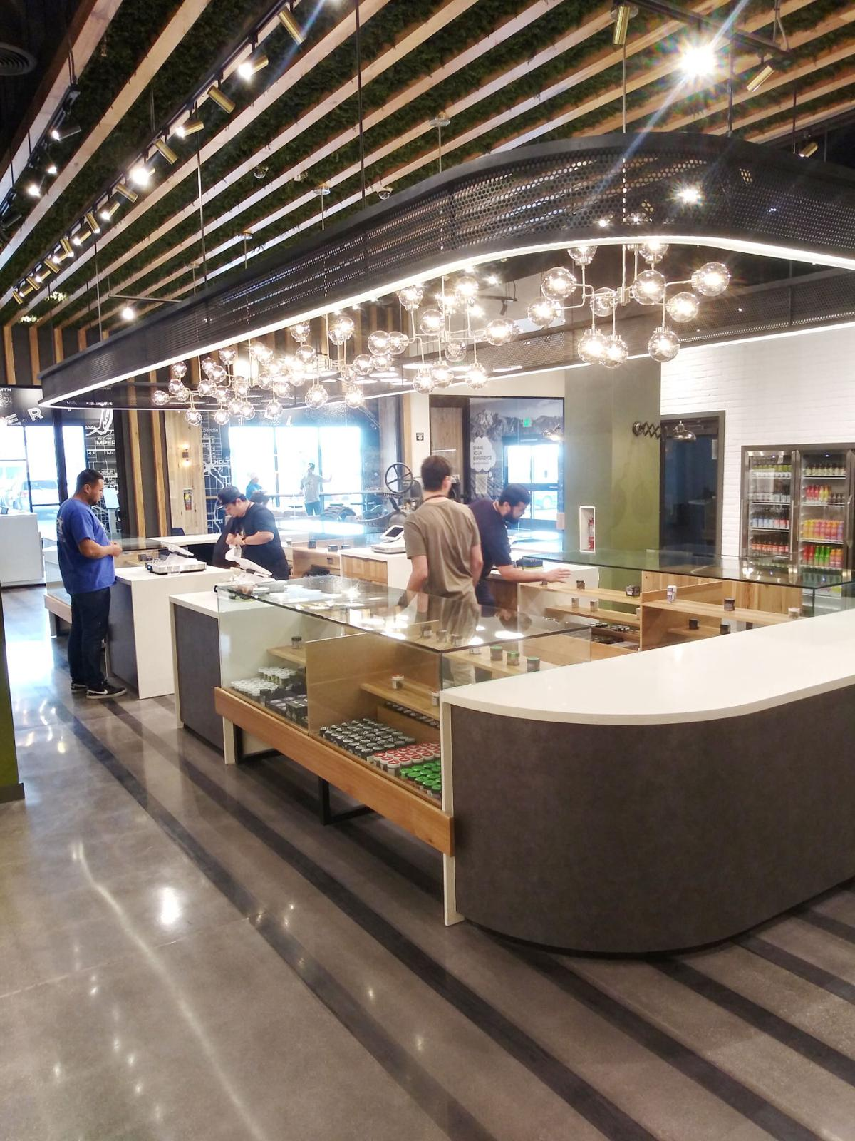 Cannabis dispensary now open for business