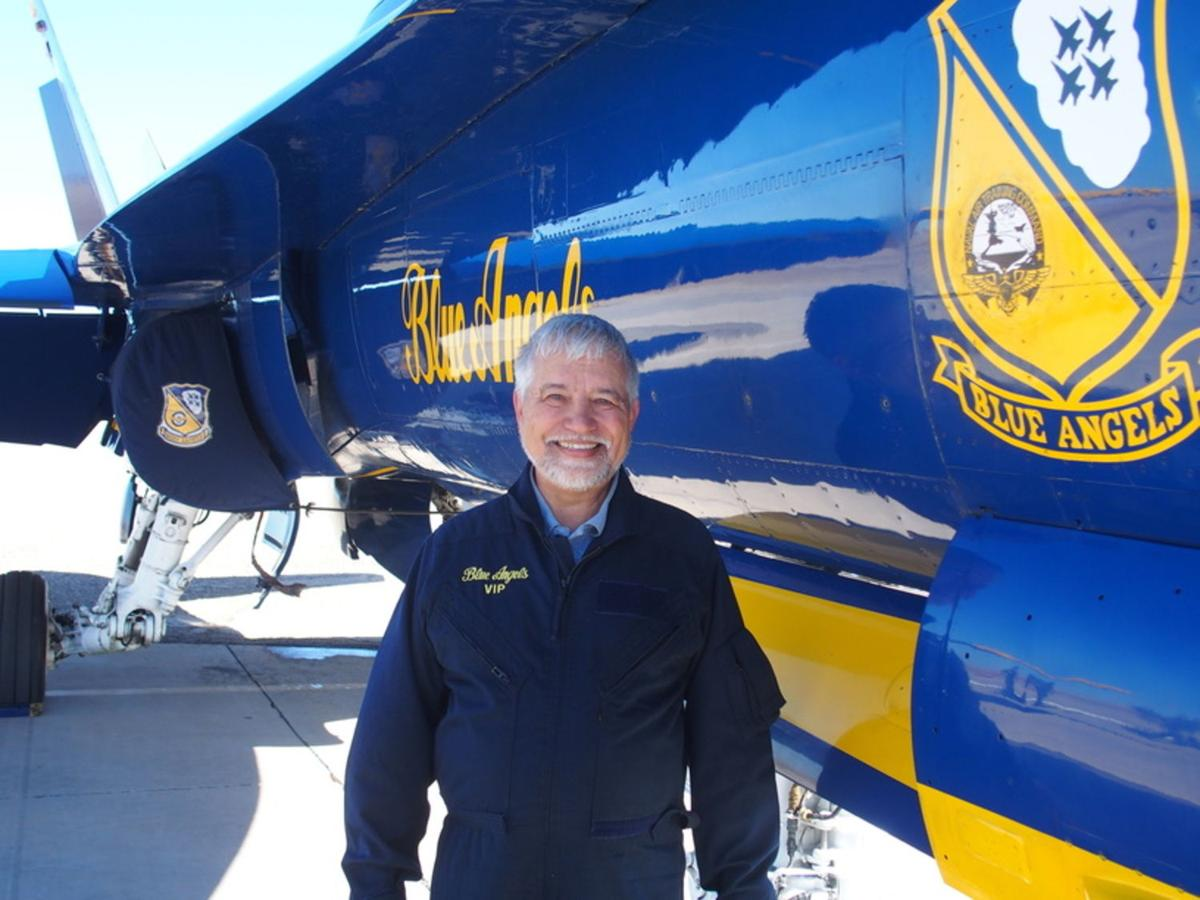 Imperial Valley community members take memorable flight with Blue Angels