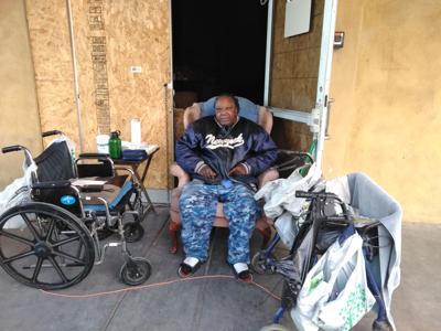 Life through a homeless person's point of view