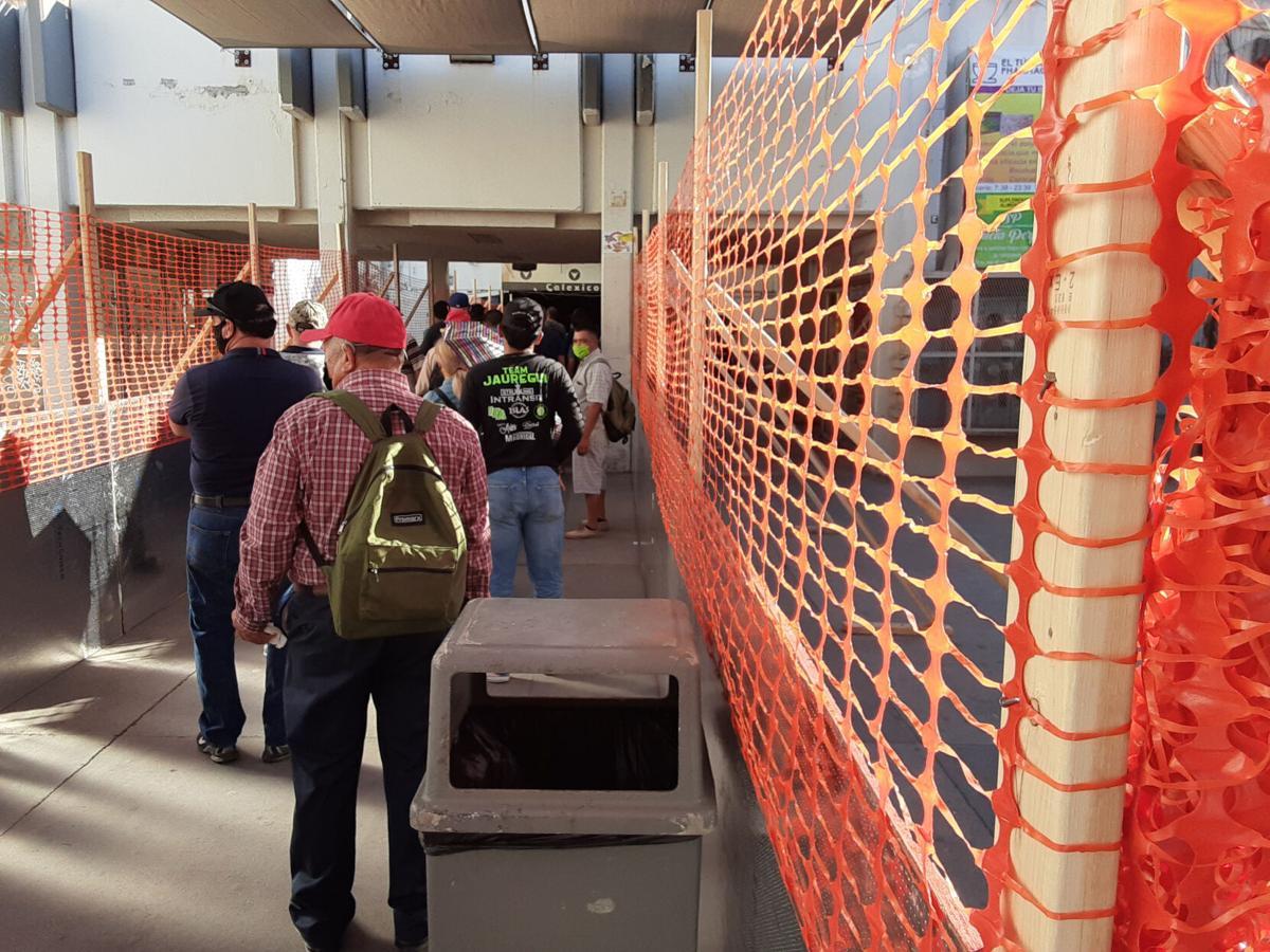 Calexico port adjustments prompt delays