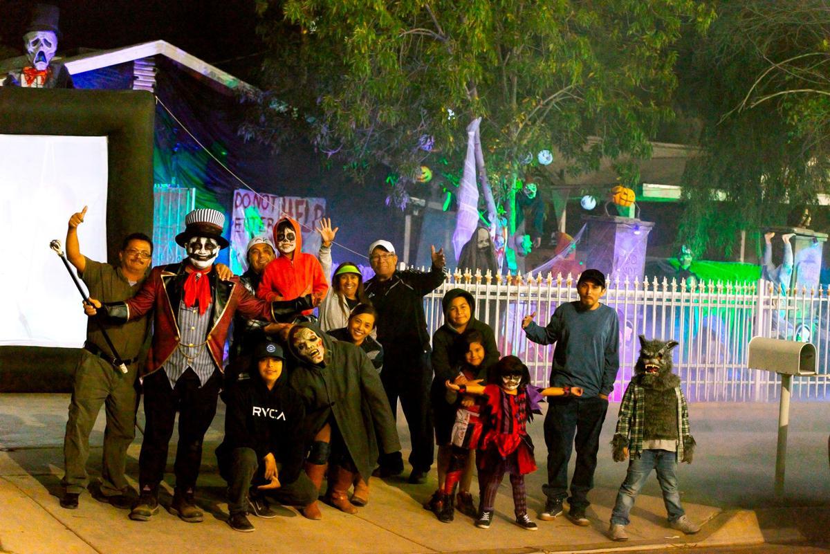 Brawley family puts Halloween spirit on full display