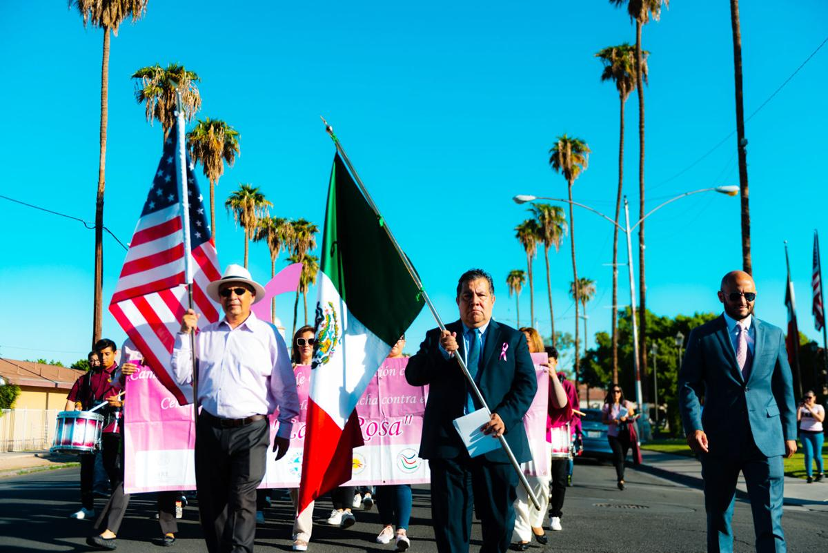 Walk promotes breast cancer awareness on both sides of the border